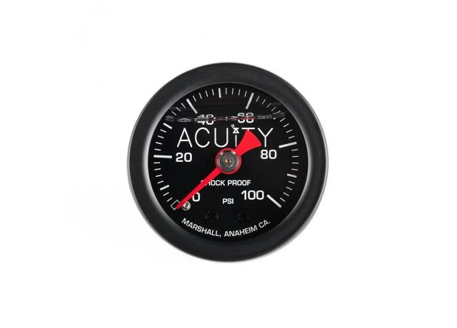 ACUiTY 100 PSI Fuel Pressure Gauge