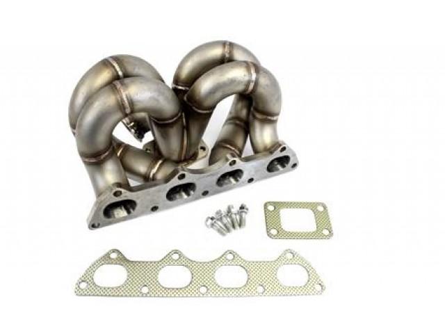 Private Label Mfg  Power Driven T3 Ramhorn Turbo Manifold Ac & Ps Compatible B-series B16 B18 B20