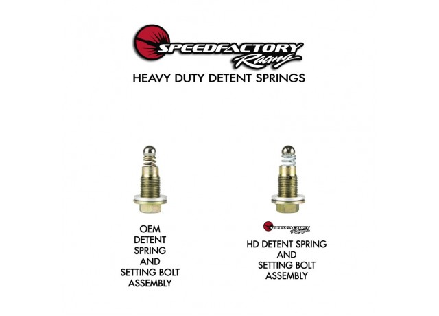SpeedFactory Heavy Duty Detent Spring Kit