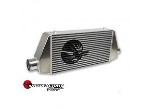 """SpeedFactory """"Street"""" Side Inlet/Outlet Universal Front Mount Intercooler - 2.5"""" Inlet / 2.5"""" Outlet (300HP-500HP)"""