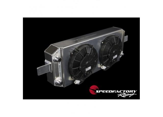 SpeedFactory Racing Aluminum Tucked Radiator -16an