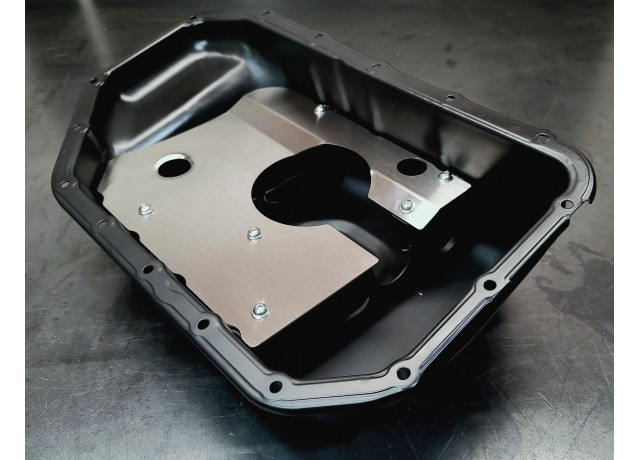 Unit2 K-Series Steel Baffled Oil Pan - PRB PUMP ONLY