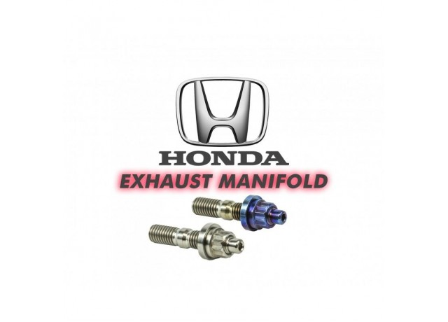 SpeedFactory Honda / Acura Titanium K Series Exhaust Manifold Stud Kits