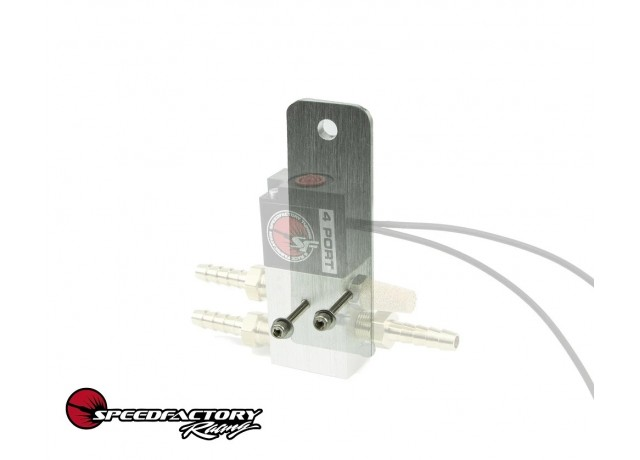 SpeedFactory Racing Boost Control Solenoid Mounting Bracket with Hardware