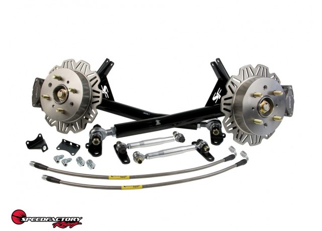 SpeedFactory Racing Lightweight Rear Trailing Arm Kit With Staging Brakes (FWD)